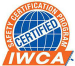 International Window Cleaning Association Safety Certified logo