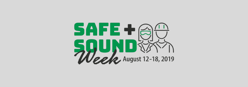 Safe + Sound Week 2019