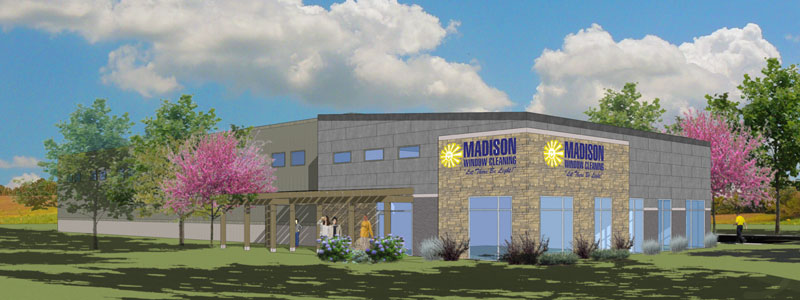 Madison Window Cleaning rendering of new building