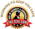 The Seal Working to Keep You Safe badge logo